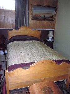 lit avec matelas 48''