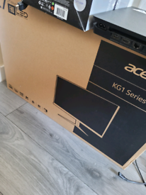 Acer KG1 series gaming monitor.
