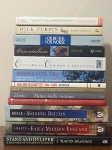 Lot of Early Modern, (primarily) British History Books for Sale