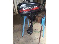 Mercury 2.5ho outboard engine
