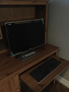 Computer screen and keyboard for sale