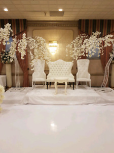 Chair and event decor rentals
