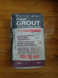 Porcelain Tiles 18x18 - 3 boxes & Grout bag 22lb / 10 kg ~ NEW Kitchener / Waterloo Kitchener Area image 2