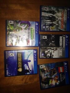 PS4 Games Sale or trade 3ds games