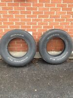 Two all season tires 225/75R16