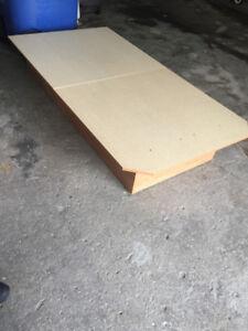 base de lit et matelas