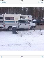 Okanagan 8 foot truck camper