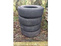 4x Mohawk M716 195/65/R15 Tyres