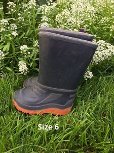 Size 6 Toddler Gumboots
