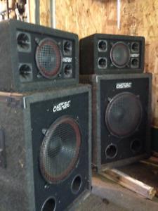 Speaker pour orchestre
