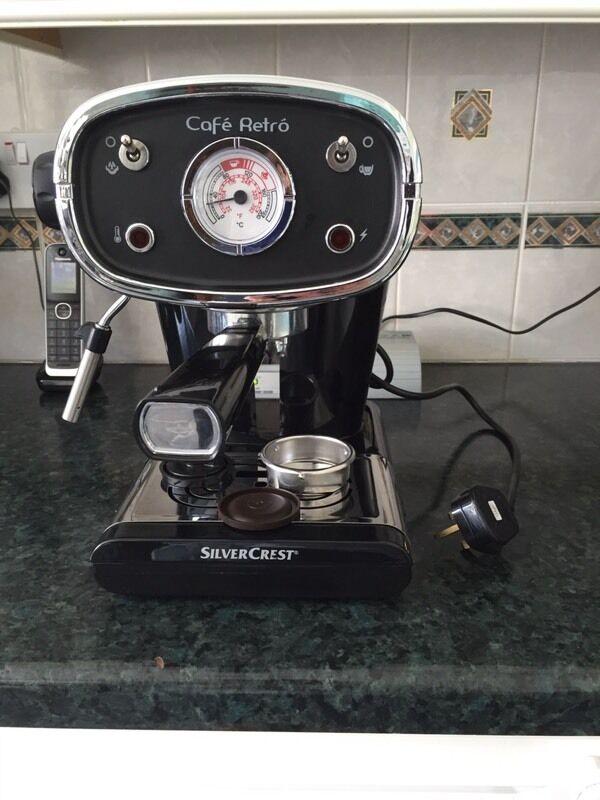 Silver crest cafe retro espresso machine | in Portlethen, Aberdeen ...