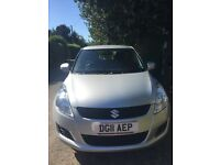 Suzuki Swift SZ2 silver 11 plate. REDUCED.