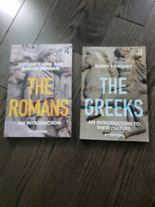 The Greeks & The Romans Introduction 3rd Edition Textbook