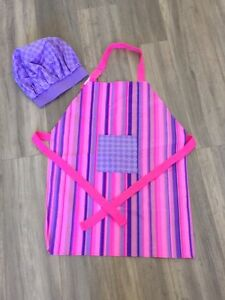Easy Bake brand name,  apron and chef hat