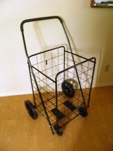 Deluxe rolling UTILITY CART