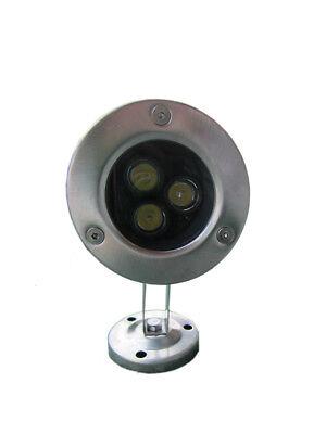 10 x 3W DC12v LED Underwater Light Garden Outdoor Pool Lamp Pure White IP68