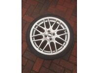 4 17inch BBS Alloy wheels and tyres