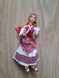 1980s Dutch doll