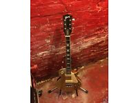 Gibson Les Paul Gold Top Guitar. Chord with Gibson Decals. Mint. Fab Player.