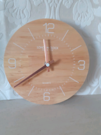 New Wood Mantle/Wall Mounted Clock