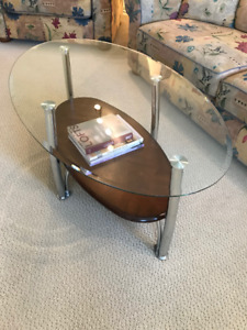 Two sets of coffee tables with end tables for sale