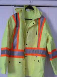 High Viz Raincoat