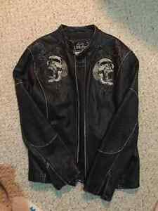 Affliction Leather Jacket - Limited Edition