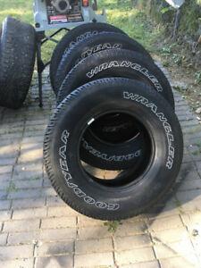 P235 / 75R15 - Tires