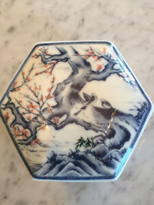 Vintage Asian Ceramic Dish