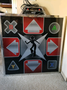 Metal Dance Pad