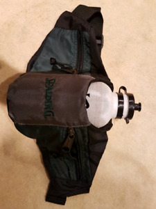 Water bottle with waist pack