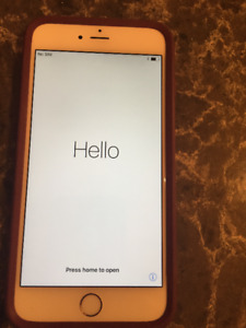 ONE MONTH OLD IPHONE 6 PLUS 64GB IN ROSE GOLD