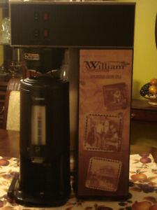 Cafetiere avec réchaud