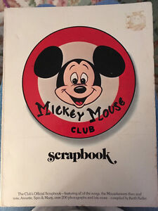 Mickey Mouse Club Scrapbook Collectible 1975 Keith Keller West Island Greater Montréal image 1