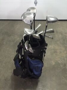 Right hand golf clubs