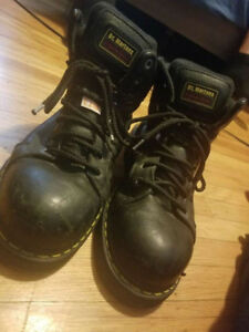 Men's Steel Toe Doc Martens work boots
