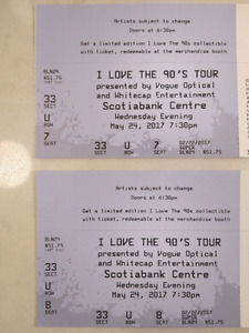 I Love The 90s Tour - 2 TICKETS ($50 ea)