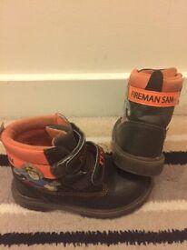 Fireman Sam winter boots