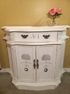 Beautifull rustic cabinet console table dresser commode rustique