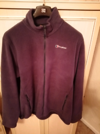 Mens berghaus fleece xxl in light blue