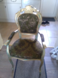 Upcycled bedroom chair