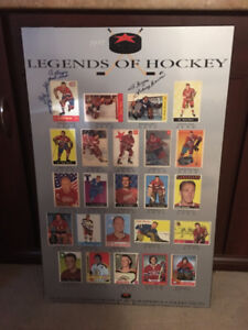 Autographed Legends of Hockey