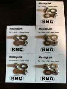 KMC Missing Bicycle Chain Link, 7.3mm 6/7/8-Speed, 5-Pack