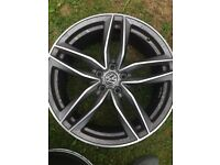 19 inch Audi Rs6 alloys /wheels