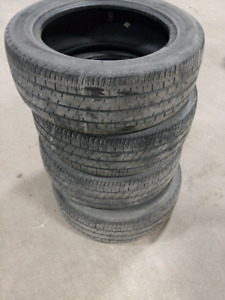 Set of 205/55R16 tires