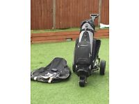 Power Pro remote electric golf trolley & Nike bag £75