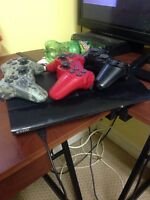PS3 3 controllers $160