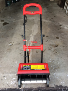 Electric snow shovel thrower for sale