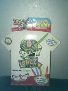 Buzz Lightyear Colouring T-Shirt Activity/Craft