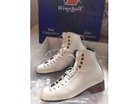 Riedell Figure Skating Boots With Blades - Size 3